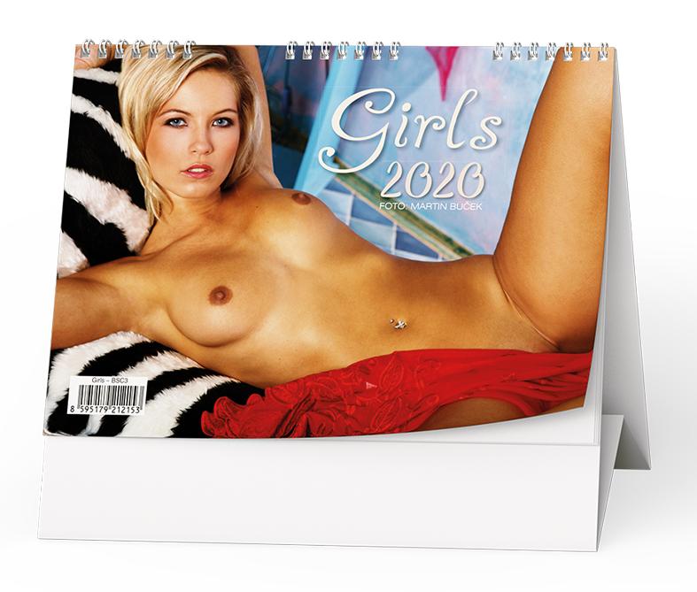 Stolní kalendář - Girls
