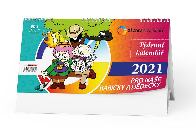 Stolní kalendář - Kalendář pro naše babičky a dědečky