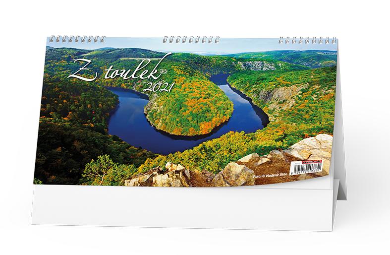 Stolní kalendář - Z toulek, BALOUŠEK, BSH2