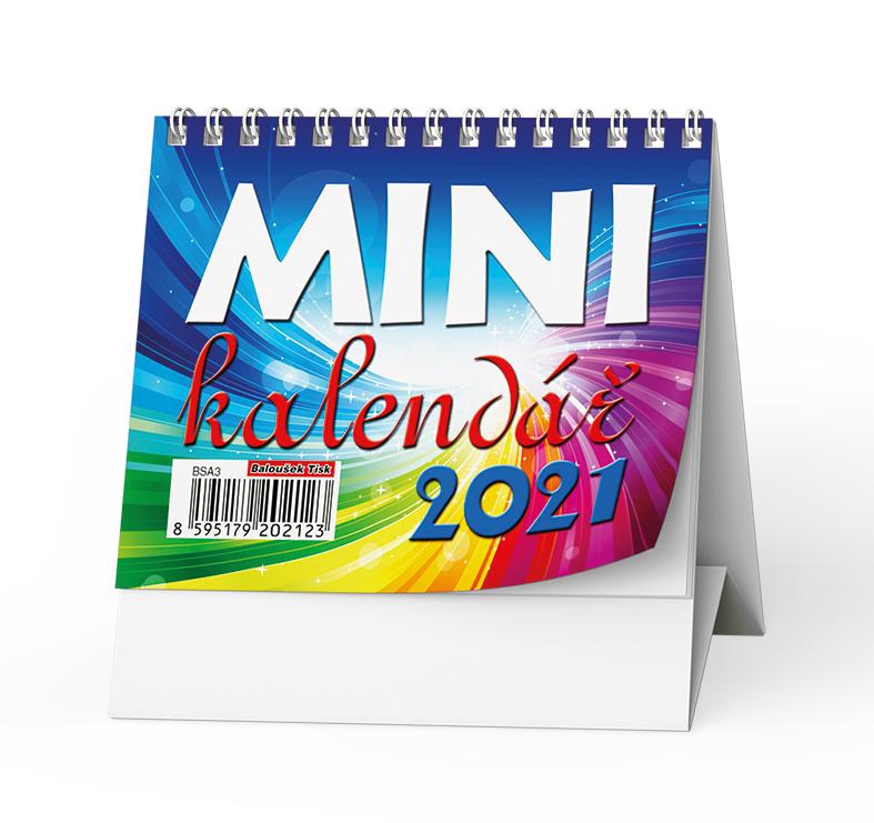 Stolní kalendář - Mini, BALOUŠEK, BSA3