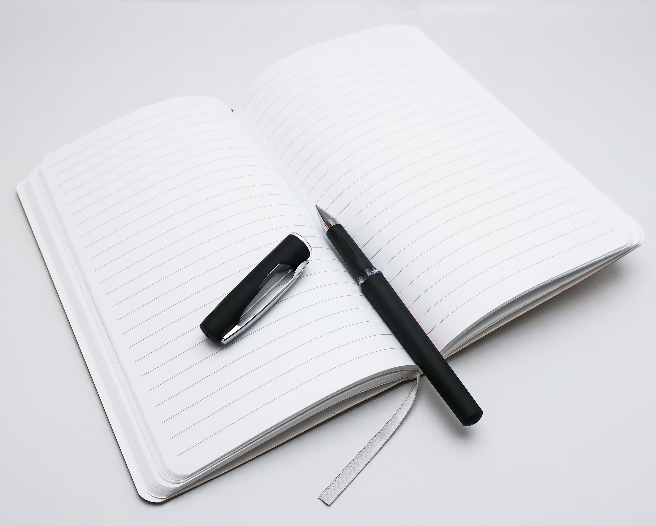 Notes linkovaný - A5 - kraft - věnec