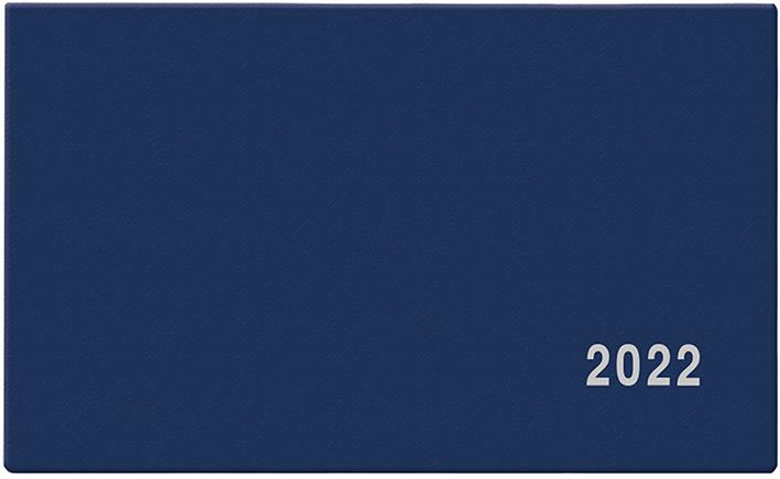 Týdenní diář - Cyril - PVC - modrá
