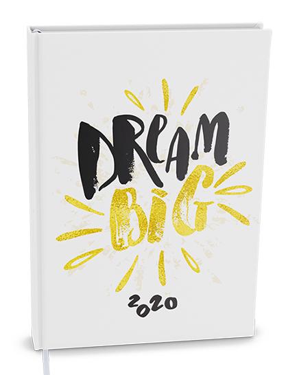 Denní diář - Adam - lamino - B6 - Dream