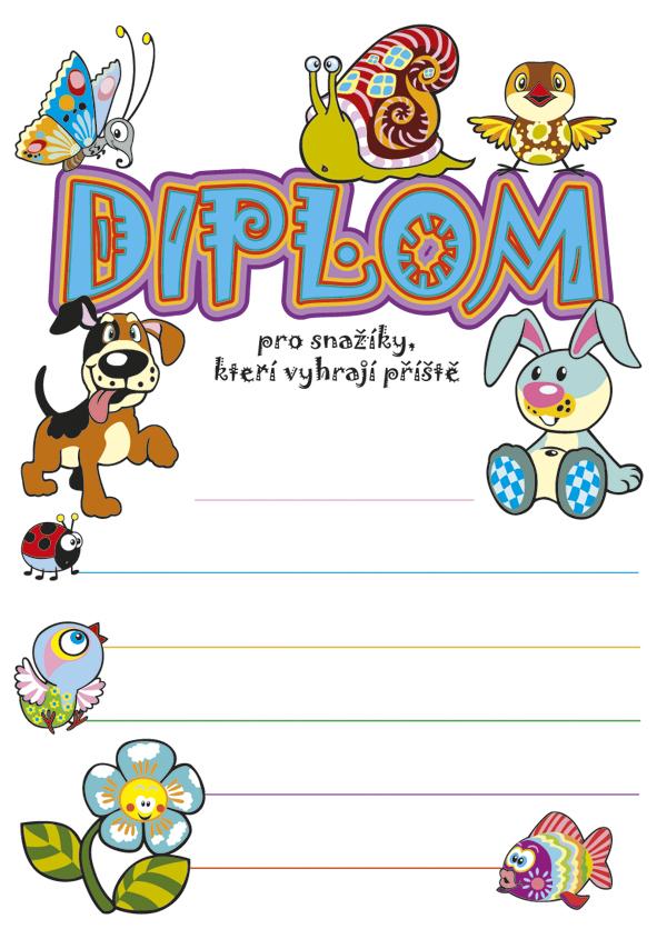 Diplom A5 Snažík