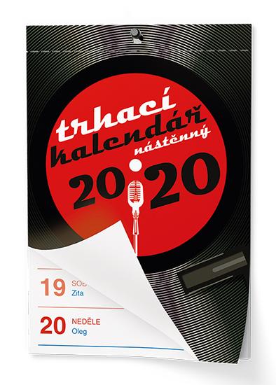 Nástěnný kalendář - Senior  I. - A6, BALOUŠEK, BNA0