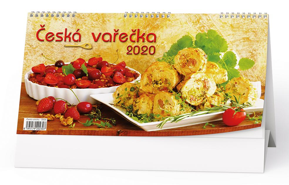 Stolní kalendář - Česká vařečka