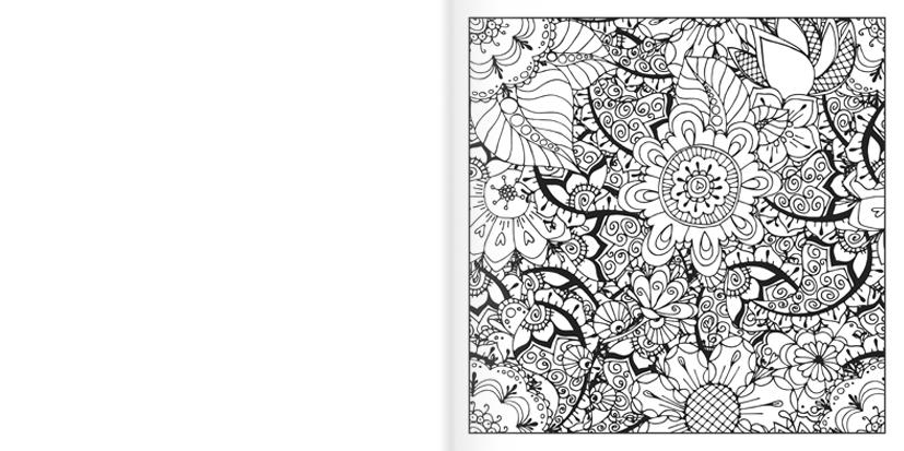 Antistresová omalovánka 2/3 A4 - Ornamenty