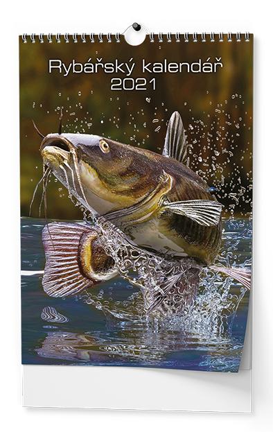 Nástěnný kalendář A3 - Rybářský, BALOUŠEK, BNF4