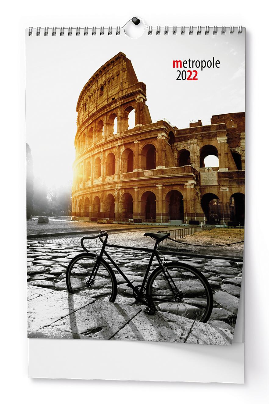 Nástěnný kalendář A3 - Metropole