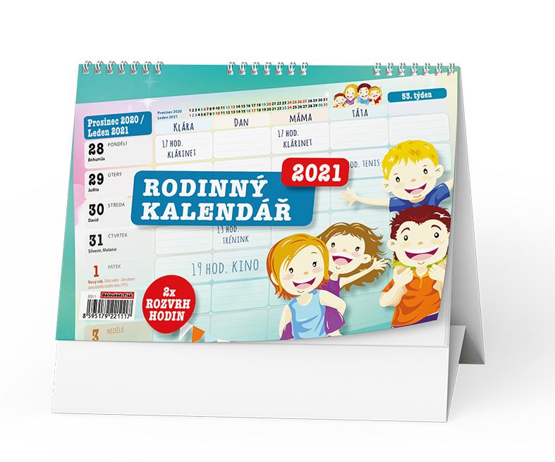 Stolní kalendář - Rodinný stolní kalendář