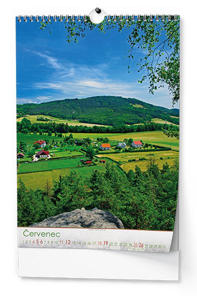 Nástěnný kalendář A3 -Český ráj