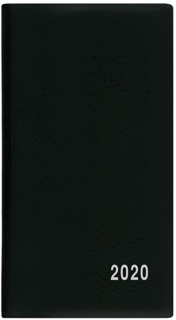 Měsíční diář - Františka - PVC - černá