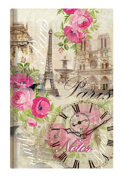 Notes linkovaný - A6 - lamino - Paříž