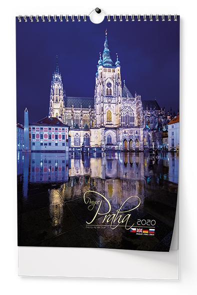 Nástěnný kalendář A3 - Praha