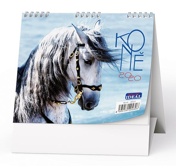 Stolní kalendář - IDEÁL - Koně