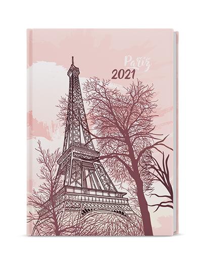 Denní diář - David - lamino - A5 - Eiffelovka, BALOUŠEK, BDD9-6