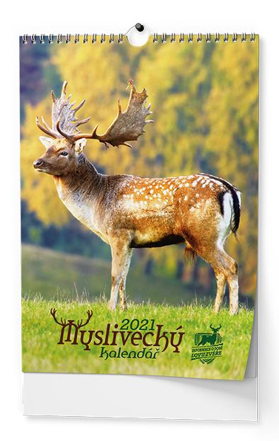 Nástěnný kalendář A3 - Myslivecký, BALOUŠEK, BNF3