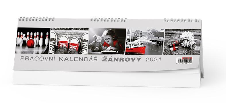 Stolní kalendář - Žánrový, BALOUŠEK, BSB4