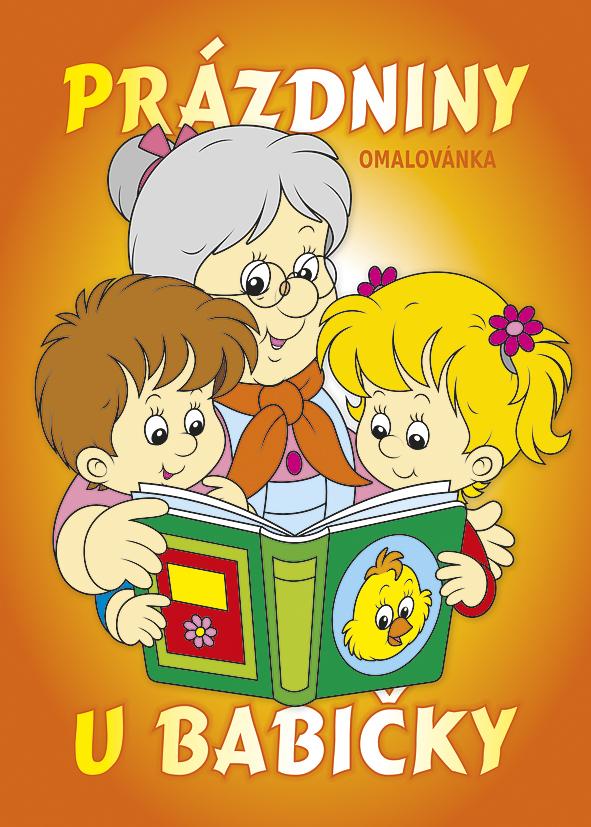 Omalovánka A5 - Prázdniny u babičky