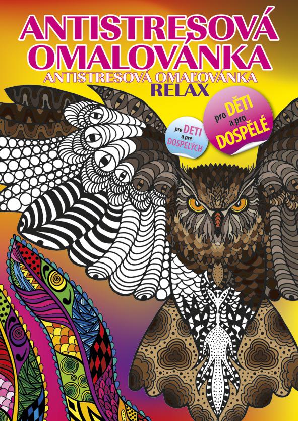 Antistresová omalovánka A4 - Relax