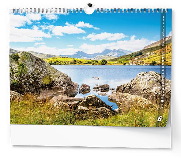 Nástěnný kalendář A3 - Toulky přírodou
