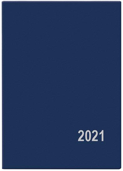 Měsíční diář - Anežka - PVC - modrá, BALOUŠEK, BMA1-1