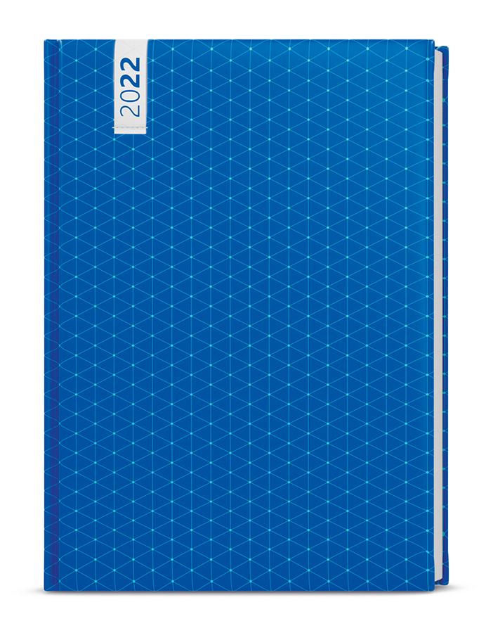 Týdenní diář - Prokop - lamino - B6 - Modrý