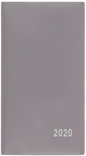 Měsíční diář - Františka - PVC - šedá