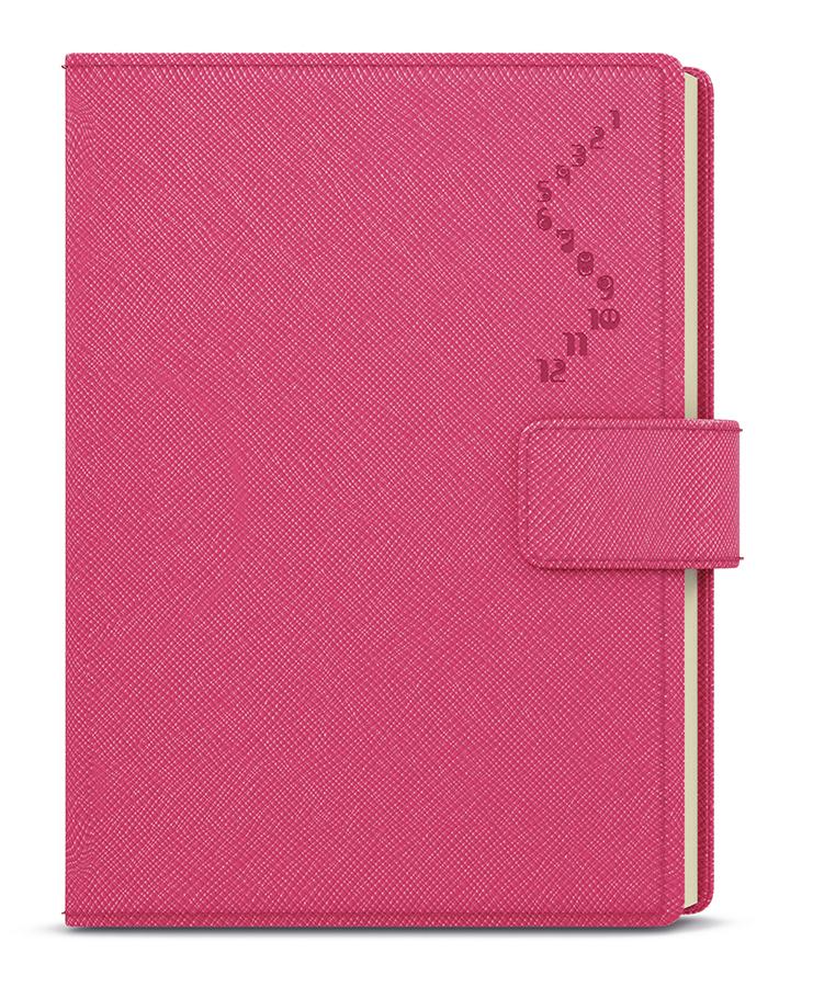 Denní diář - Ctirad s výsekem - manager color - A5 - růžová
