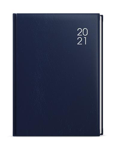 Denní diář - David - balacron - A5 - modrá, BALOUŠEK, BDD7-1