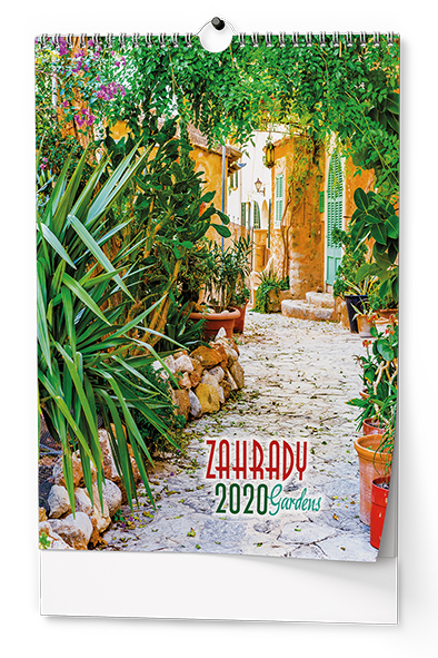 Nástěnný kalendář A3 - Zahrady