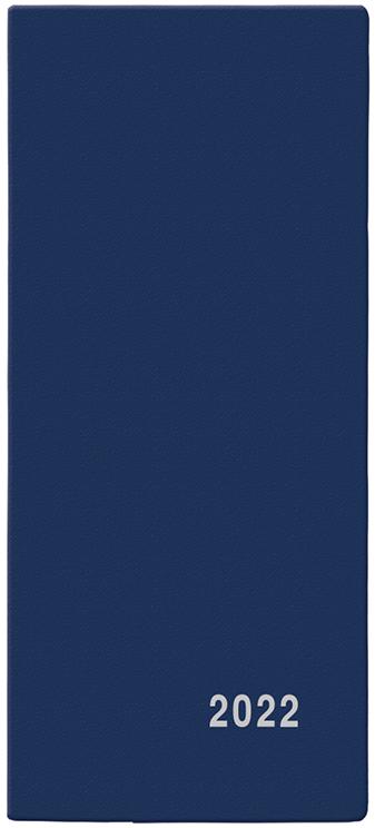 Měsíční diář - Xenie - PVC - modrá