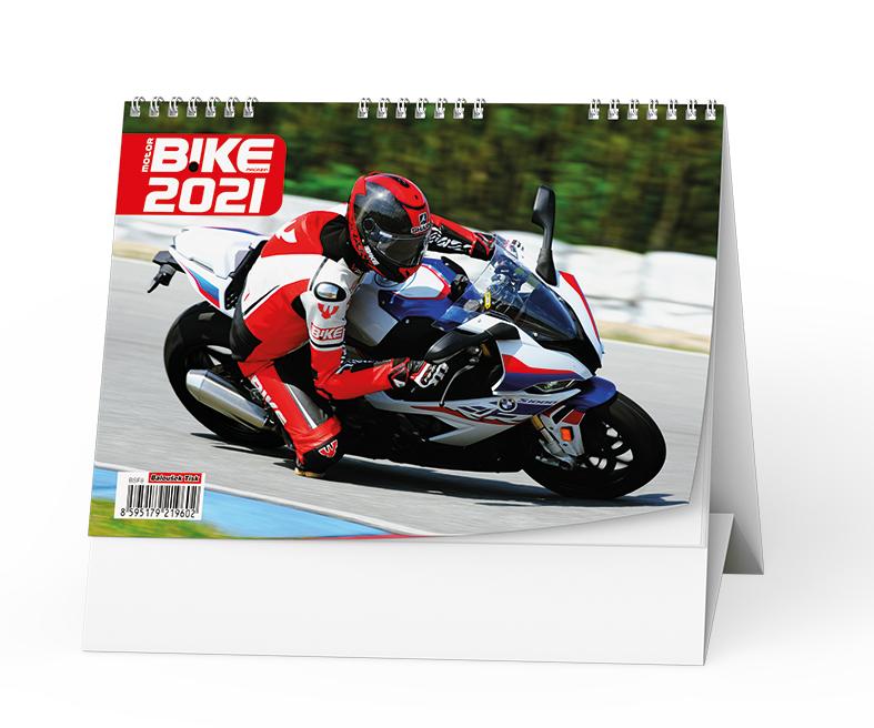 Stolní kalendář - Motorbike, BALOUŠEK, BSF8