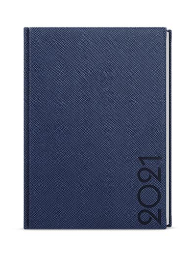 Týdenní diář - Oskar - tora - A5 - modrá, BALOUŠEK, BTO13-1