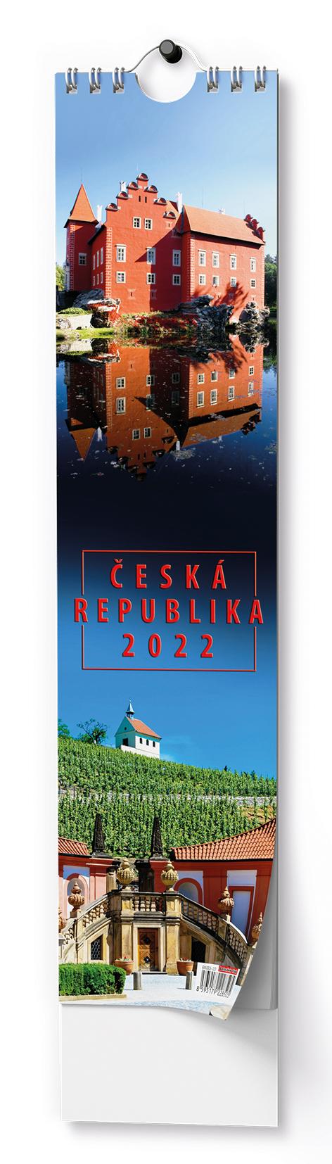 Nástěnný kalendář - Kravata - Česká republika