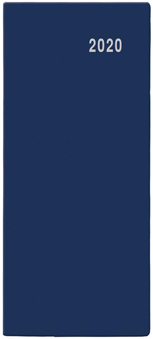 Měsíční diář - Božka - PVC - modrá