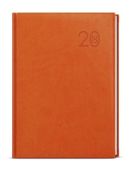 Denní diář - Adam - vivella - B6 - oranžová