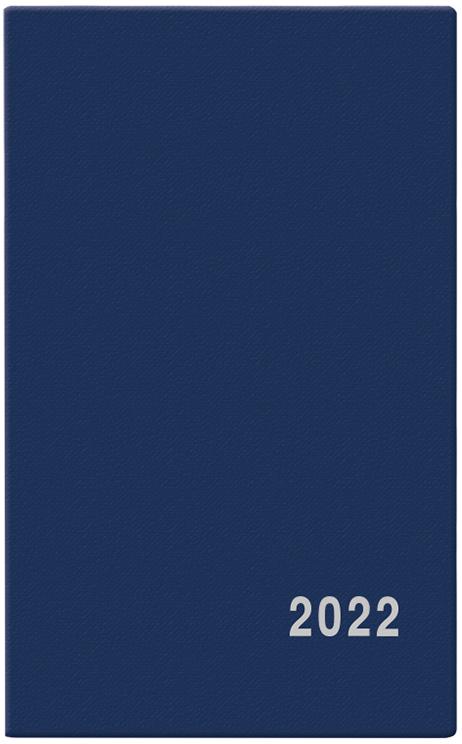 Týdenní diář - Alois - PVC - modrá