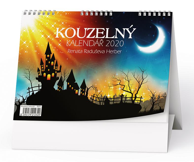 Stolní kalendář - Kouzelný kalendář Renáty Herber