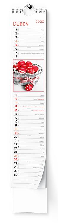 Nástěnný kalendář - Kravata - Žánrový